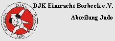DJK Eintracht Borbeck - Judo