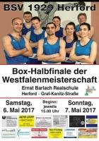 Westfalenmeisterschaft 2017 Viertelfinale / Halbfinale
